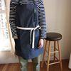 pin stripe apron