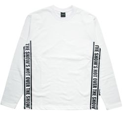 STRAP LONG T-shirt WH BK