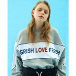 GRISH YOUTH Sweatshirts-(GRAY)