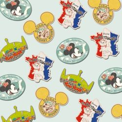 디즈니 시리즈트래블스티커세트1