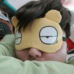 재미있는 표정 수면안대
