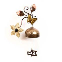엔틱 나비꽃 도어벨