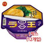 닛신 라오 돈코츠 간장맛 1박스(12개입) 컵라면