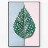 메탈 식물 패턴 인테리어 포스터 액자 Dots [대형]