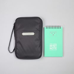 better together SOLID WALLET - gray