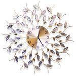 무소음 철제벽시계 골드&큐빅 G02 인테리어벽시계