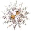 무소음 철제벽시계 골드&큐빅 G03 인테리어벽시계