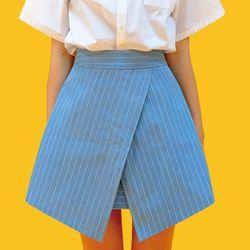 쪽지데님스커트 denim mini skirt