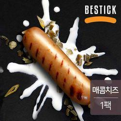 베스틱 닭가슴살 소시지 매콤치즈맛 120g