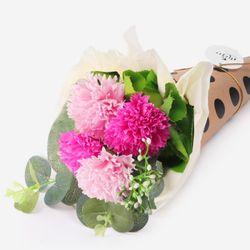 [인디고샵] 고마워요 핑크 카네이션 비누꽃다발(1set)