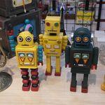 빈티지한 로봇 인테리어 장식소품