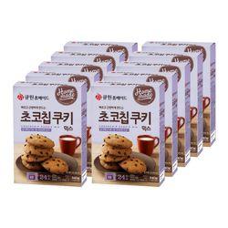 (한박스 10개입) 큐원 초코칩쿠키믹스 전자레인지용