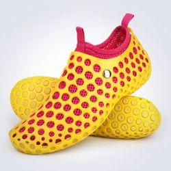 아쿠아슈즈 옐로우 핑크 인솔분리 커플신발 비치화