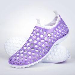 아쿠아슈즈 퍼플일체형 커플신발 인솔분리 비치화