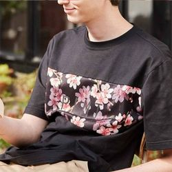 SKINNY TYPO 17 T-SHIRTS BLACK