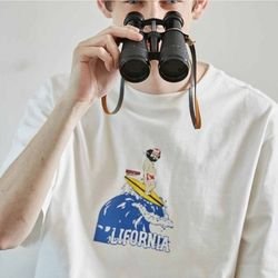 HOBO SURFING T-SHIRTS WHITE
