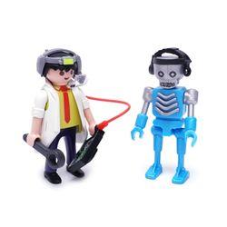 [~12/31까지] 플레이모빌 듀오팩-로봇과 과학자(6844)