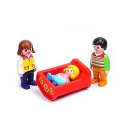 플레이모빌 1.2.3 아기요람(6966)