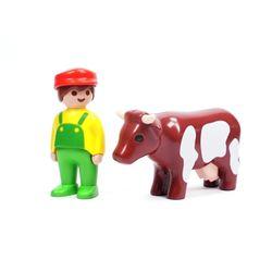 플레이모빌 1.2.3 농부와 소(6972)