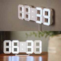 미니 3D LED 시계