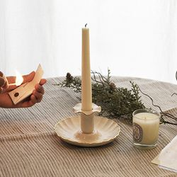 Gold Trimming Candlestick (촛대)
