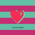 LOVE COMMA BADGE - HP
