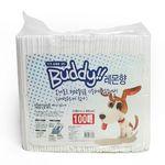 Buddy애견동물용패드100매(레몬향)