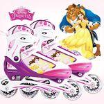 디즈니 미녀와 야수 아동용 인라인스케이트