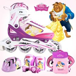 디즈니 미녀와 야수 아동용 인라인 풀세트