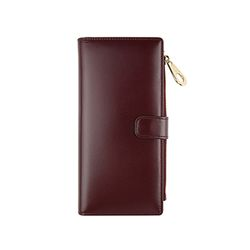 bifold long wallet - Red