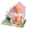 [adico]DIY 미니어처 풀하우스 - 핑크 벚꽃 하우스