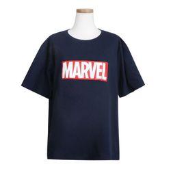 마블 기본 로고 반팔 티셔츠 정품반팔라운드 pm001