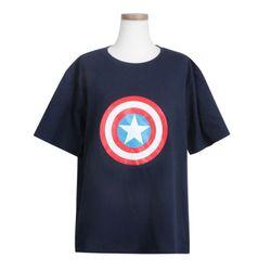 캡틴 쉴드 반팔 티셔츠 정품반팔라운드 pm003