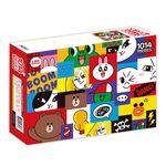 라인프렌즈 직소퍼즐 1014조각 모자이크