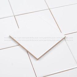 단색사각타일 화이트