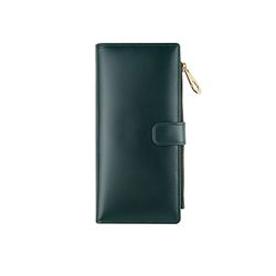 bifold long wallet - Green