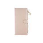bifold long wallet - Beige