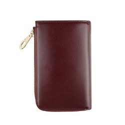 arround zipped wallet - Red