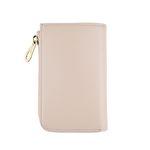 arround zipped wallet - Beige