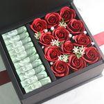 로즈플라워 현금상자(2color)