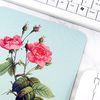 보테니컬 아트 마우스패드 4. 핑크 플라워