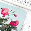 보테니컬 아트 마우스패드 5. 핑크 플라워