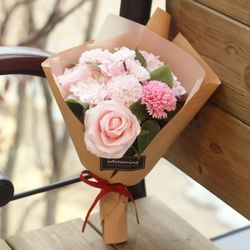 핑크 카네이션 꽃다발 - 은혜