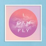 LP 메탈 액자 - I can fly