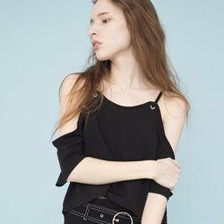 Off The Shoulder Blouse (BLACK)