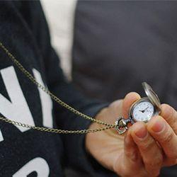 고급스런 앤틱 회중시계 - 목걸이형