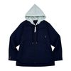Conceptual Hoodied Jacket Blue (CT20400117ABL)