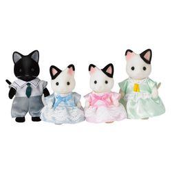 실바니안패밀리 턱시도 고양이 가족 5181