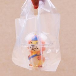 이야코 이동 포장백세트(패트컵+비닐백)