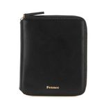 Fennec Multi Zipper Wallet 001 Black